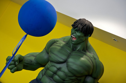 hulk, gain weight, muscle, strong, big