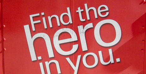 find hero in you